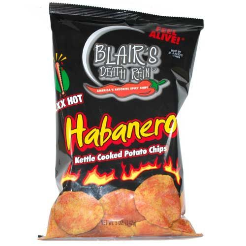 Zachwycające chipsy habanero rozkręcą sztywną bibę
