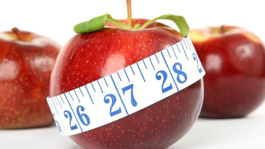 Jabłko z centymetrem - dieta kopenhaska