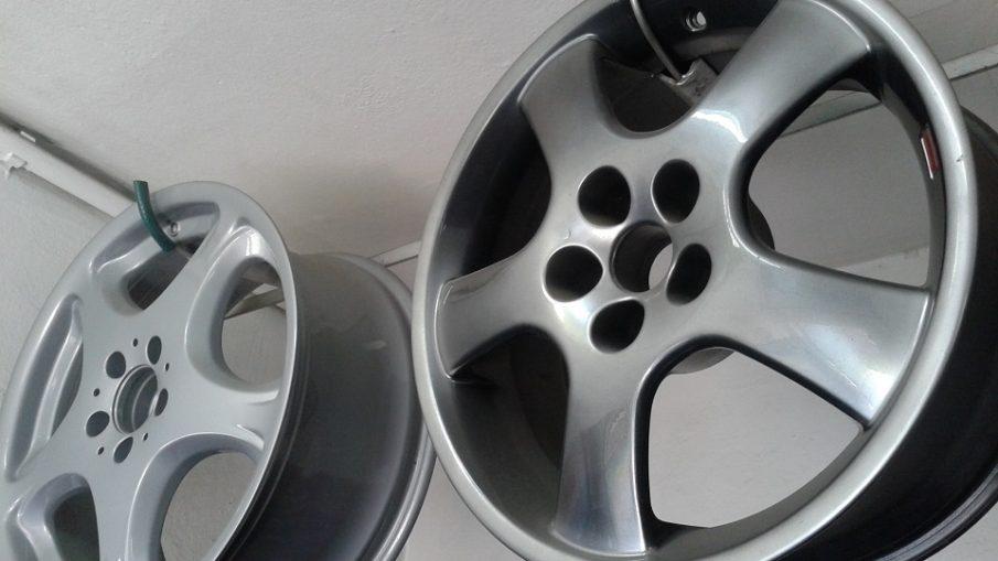 Naprawione felgi aluminiowe