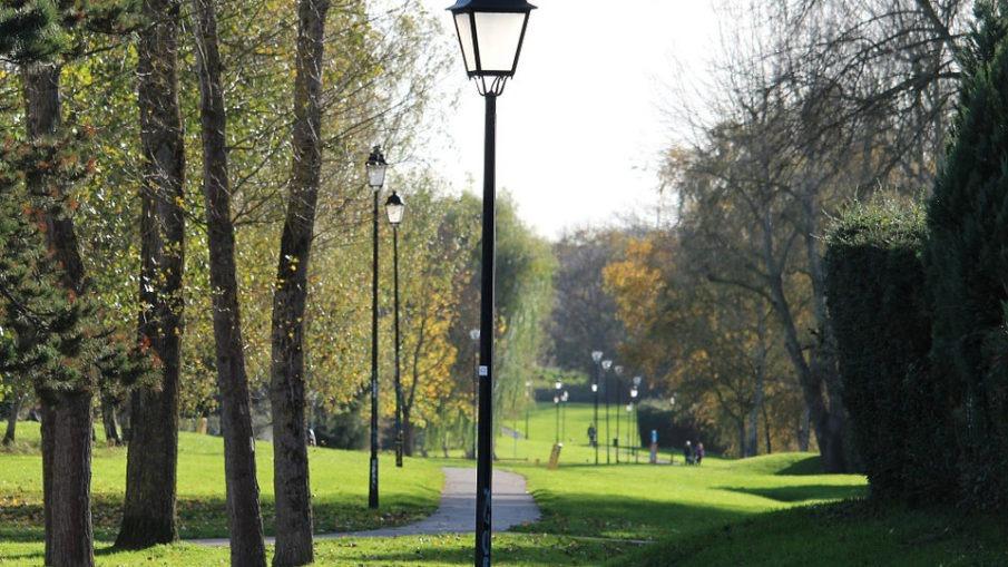 Lampa parkowa