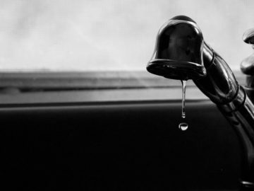 Picie wody z kranu